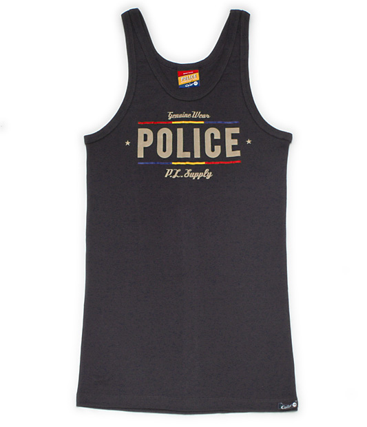 "Photo1: POLICE - Body Size Tank ""Color"" (1)"