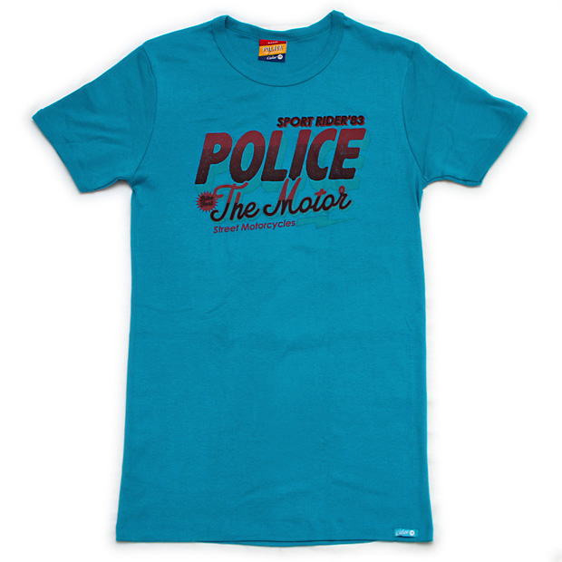 """Photo1: POLICE - Big Size T-Shirts """"The Moter"""" (1)"""