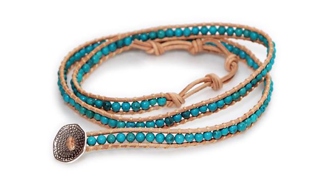 Photo1: Stone Bracelet (1)