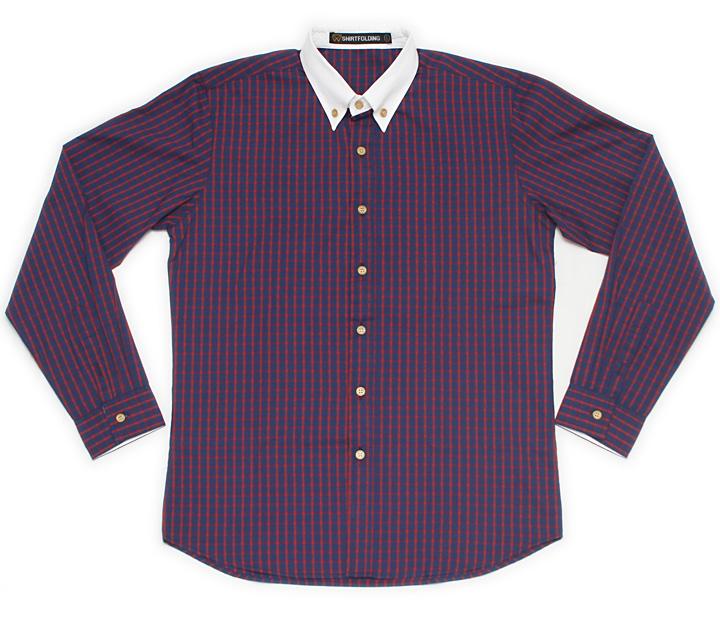 Photo1: Plaid Shirts (1)