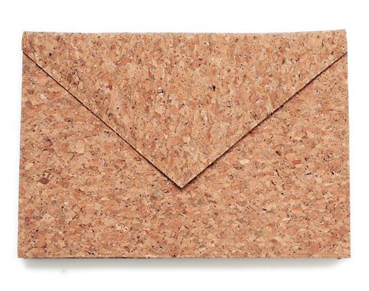 Photo1: Cork Letter Bag (1)