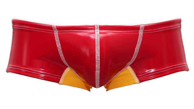 """Photo1: No. 5 Guard Boxer Swim """" Polo Red """"  (1)"""