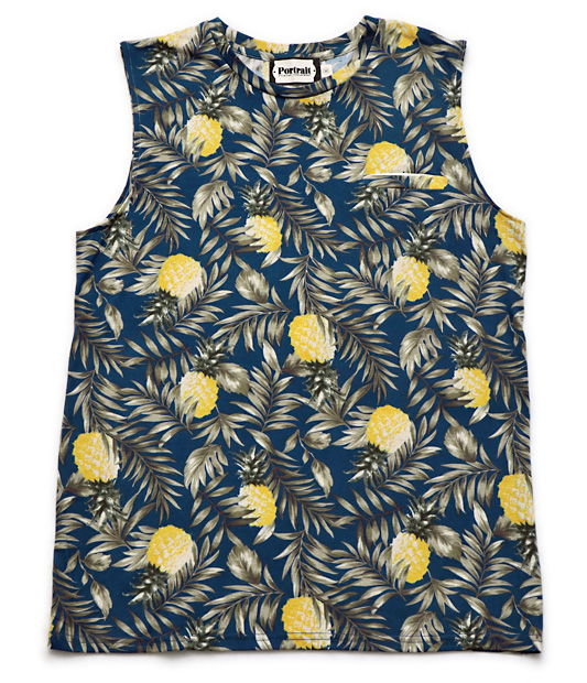 "Photo1: Portrait ""Pine"" Sleeveless T (1)"