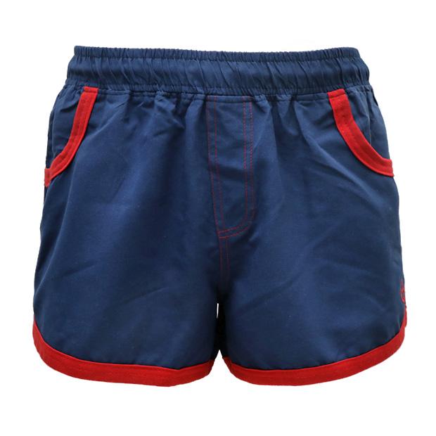 "Photo1: Short Surf Pants ""Navy"" (1)"