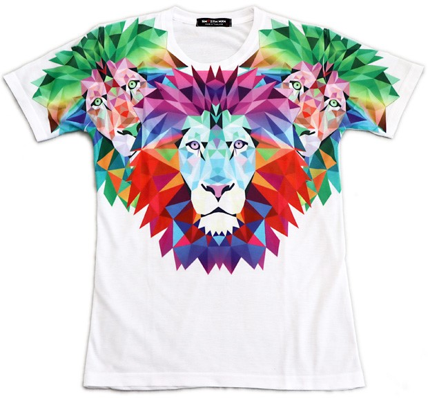 Photo1: Lion Kings Tee (1)