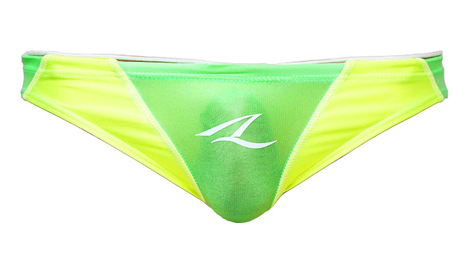 "Photo1: Bikini Like Tee ""Sheer Green"" (1)"